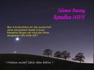 Ramadhan 1430 H
